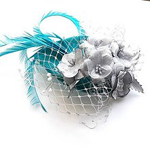 Ozdoby do vlasov - Fascinátor - 10782633_