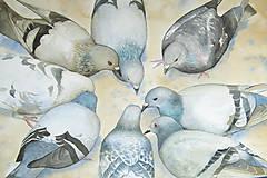 Obrazy - Kruh - originál, velký akvarel - 10782950_