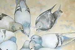 Obrazy - Kruh - originál, velký akvarel - 10782951_