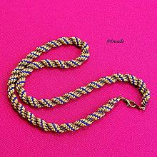 Náhrdelníky - Korálkový náhrdelník 589-0054 - 10785417_