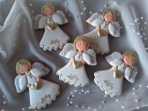 Dekorácie - Anjel k 1.sv. prijimaniu - 10784641_