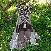 Šaty - Šaty Káva tri v jednom - 10784676_