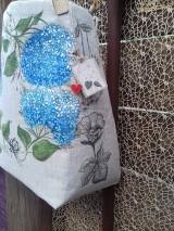 Ľanová taška maľovaná