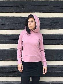 Mikiny - Organic Old Pink Hoodie - 10784135_