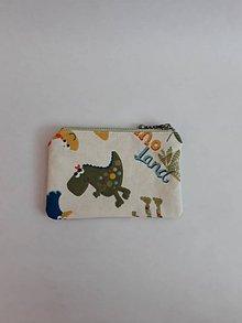 Kľúčenky - Kľúčenka, peňaženka na mince - 10784497_