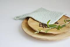 Úžitkový textil - Chňapka II EXTRA hrubá - mint - 10785779_