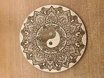 Pomôcky - Podložka pod nápoje Yin and yang - 10784154_
