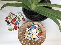 Úžitkový textil - Odličovací tampón kolekcia