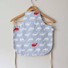 Textil - Zásterka sivé veľryby - 10785260_