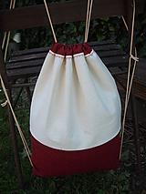 Batohy - šnúrkový ruksak - 10784239_