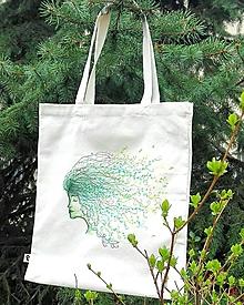 Nákupné tašky - bavlnená taška - 10785602_