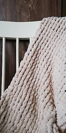 Textil - Detská deka - béžová 2 - 10784278_