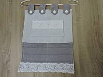 Dekorácie - organizér, úložný piestor, odkladací priestor, dekorácia, doplnok - 10785709_