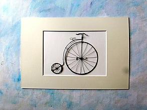 Obrazy - Obrázok z drôtu 30 x 20 cm - 10784812_