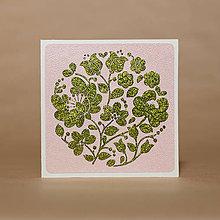Papiernictvo - P171 - Pozdrav - Kvetinové gratulácie - 10788623_