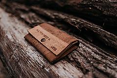 Korková peňaženka Less