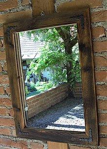 Zrkadlá - Zrkadlo zo starého dreva - 10788996_