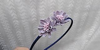 Ozdoby do vlasov - Čelenka... kvety fialové - 10788858_