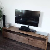 Nábytok - TV stolík so starého duba - 10789113_