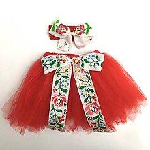 Detské oblečenie - Detská tutu sukňa Tanečnica z Lúčnice - 10787382_