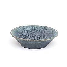 Dekorácie - Blue Dream Drevená Misa - 10786303_