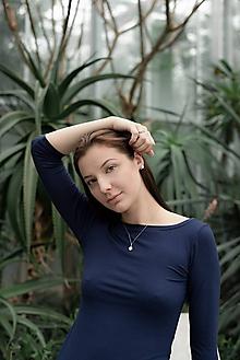 Tričká - Tričko tmavě modré XS - XXXL - 10789161_
