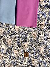 Detské oblečenie - Na slnku zmení farbu - Kúzelná sukňa vzor Koala - 10786713_