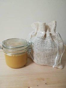 Potraviny - Med v dózickom skle v jutovom vrecúšku - 10786261_