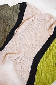 Textil - .detská deka (100% bavlna) - 10788975_