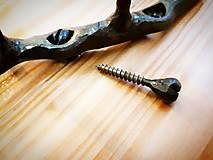 Nábytok - Kovaný vešiačik - jeseň, 15 cm - 10788759_