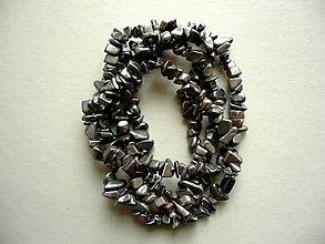 Minerály - Minerální zlomky 90 cm - hematit - 10788698_