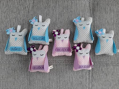 Darčeky pre detských svadobných hostí.