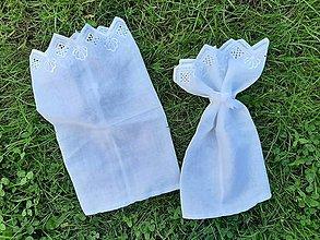 Úžitkový textil - Ekologické Zero Waste nákupné vrecúška. - 10787237_