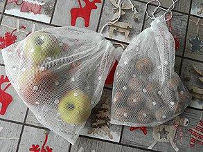 Úžitkový textil - Zero Waste ekologické vrecúška. - 10787419_