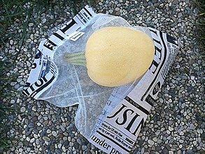 Úžitkový textil - Zero Waste Eko nákupné vrecúško. - 10787496_
