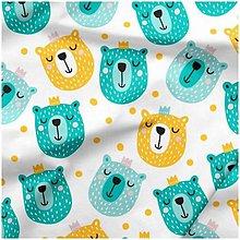 Textil - Nežný medvedík - 10789810_