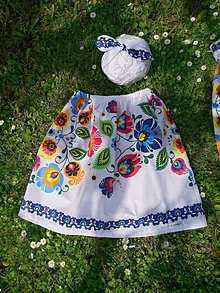 Detské oblečenie - Na ľudovú nôtu - Mama a dcéra - 10789980_