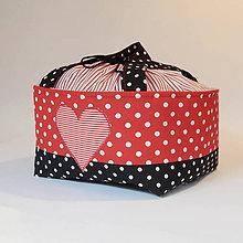 Detské tašky - Košík / taška na zaťahovanie - veľký pod kočík - 10791550_