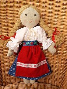 Bábiky - bábika Zuzka (1) - 10791107_