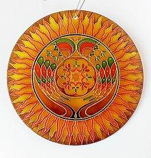 Dekorácie - Mandala..Rodinné Šťastie - 10789931_