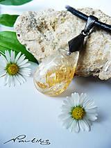 "Náhrdelníky - Cínový šperk ""Kvapôčka čarovného elixíru"" - 10791021_"