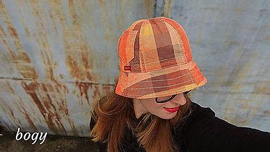 Čiapky - Unisex recy klobouk pampalíny ZeroWaste 1 - 54/55cm - 10790226_