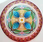 Dekorácie - Mandala...Cesta k svetlu a k radosti života - 10791847_