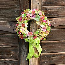 Dekorácie - Venček na dvere - 10791406_