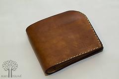 Tašky - Kožená peňaženka - 10791952_