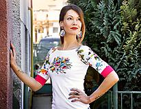 Tričká - Tričko Lana Fairy - maľované - 10790540_