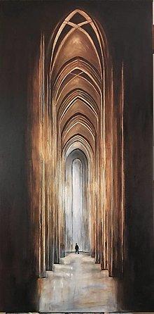 Obrazy - katedrála130x65 cm - 10791544_
