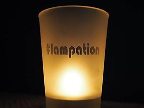 Svietidlá a sviečky - Svietnik na čajovú sviečku - 10791404_
