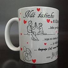 Iné - Tatinko je úžasný - hrnček - 10790270_