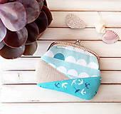 Peňaženky - Peňaženka XL Lastovičky - 10789741_